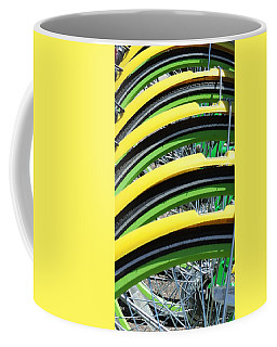 Yellow Bike Fenders Coffee Mug