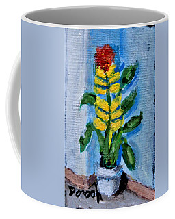 Yellow Bloom Coffee Mug
