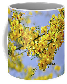 Yellow Blossoms Coffee Mug