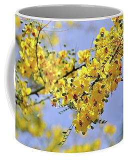 Yellow Blossoms Coffee Mug