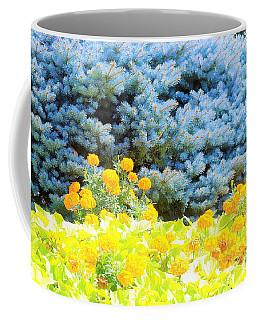 Yellow, Blue, Orange Coffee Mug