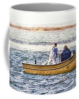 Yellow Boat - Coffee Mug