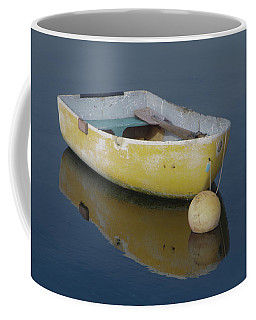 Yellow Rowboat Coffee Mug