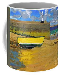 Yellow Boat, St Ives  Coffee Mug