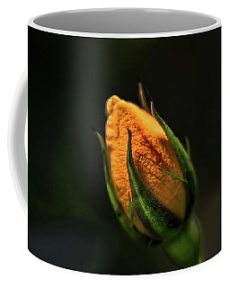Yellow Bud Coffee Mug