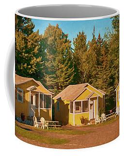 Yellow Cabins Coffee Mug