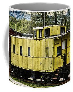 Yellow Caboose Coffee Mug