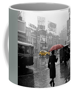 Yellow Cabs New York 2 Coffee Mug by Andrew Fare