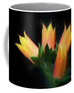 Yellow Cactus Flowers Coffee Mug