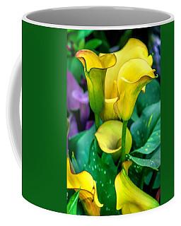 Yellow Calla Lilies Coffee Mug