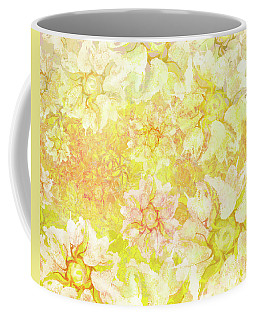 Yellow Camellia Hedges Coffee Mug