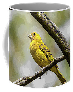 Yellow Canary Coffee Mug