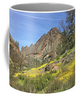 Coffee Mug featuring the photograph Yellow Carpet by Art Block Collections