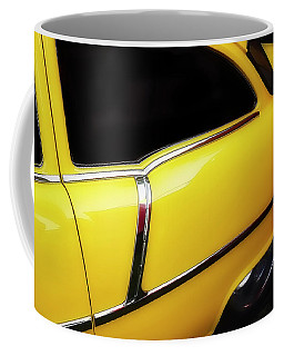 Yellow Chev Coffee Mug