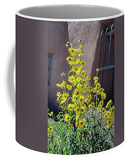 Yellow Composites At Ghost Ranch  Coffee Mug