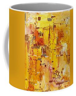 Yellow Conundrum Coffee Mug