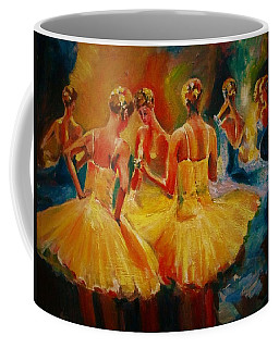 Yellow Costumes Coffee Mug