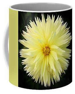 Yellow Dahlia Coffee Mug