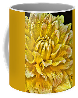 Yellow Dahlia Coffee Mug