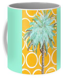 Yellow Delilah Palm Coffee Mug
