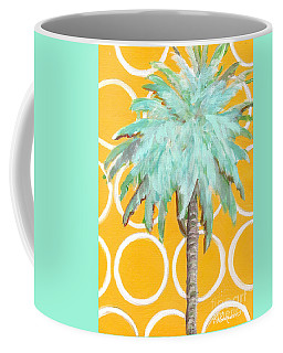 Yellow Delilah Palm Coffee Mug