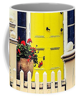Yellow Door Coffee Mug