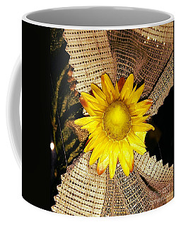 Yellow Dry Flower Coffee Mug
