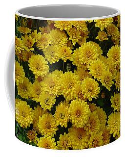 Yellow Fall Coffee Mug by Shirley Heyn
