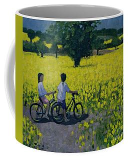 Yellow Field Coffee Mug