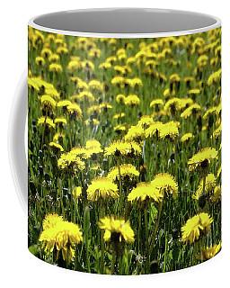 Yellow Field Two  Coffee Mug