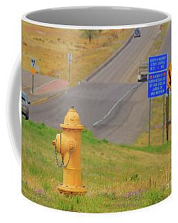 Yellow Fire Plug Ver 2 Coffee Mug
