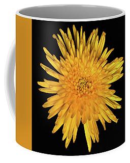 Yellow Flower Macro Coffee Mug