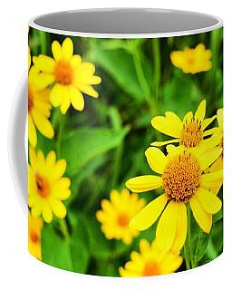 Yellow Flowers No. 2 Coffee Mug