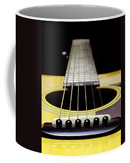 Yellow Guitar 17 Coffee Mug