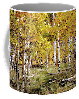 Yellow Heaven Coffee Mug by Jim Hill