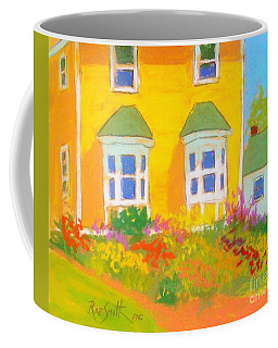 Yellow House Garden Coffee Mug