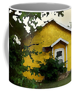 Yellow House In Shantytown  Coffee Mug