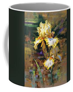 Yellow Iris II Coffee Mug