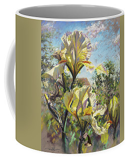 Yellow Iris Coffee Mug