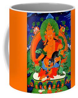 Yellow Jambhala 1 Coffee Mug by Lanjee Chee