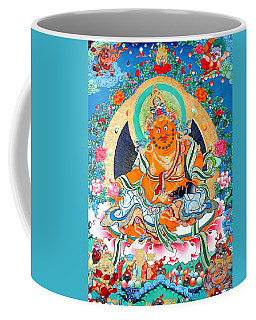 Yellow Jambhala 2 Coffee Mug by Lanjee Chee