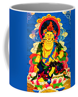 Yellow Jambhala 4 Coffee Mug by Lanjee Chee