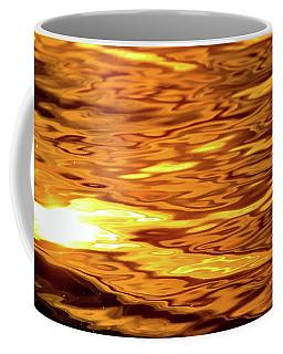 Yellow Light On Water  Coffee Mug