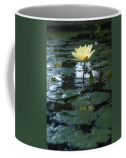 Yellow Lilly Tranquility Coffee Mug