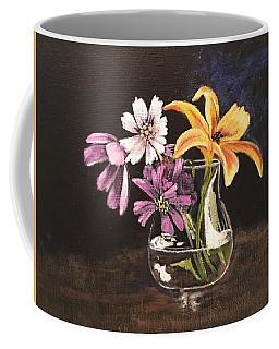Yellow Lily Coffee Mug