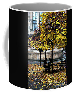 Coffee Mug featuring the photograph Yellow Lunch by Ana Mireles