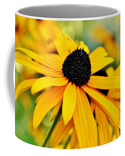 Yellow Marvel Coffee Mug