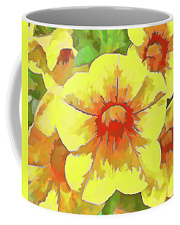 Yellow Million Bells Coffee Mug