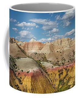Yellow Mound Colors Coffee Mug