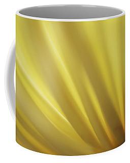 Yellow Mum Petals Coffee Mug